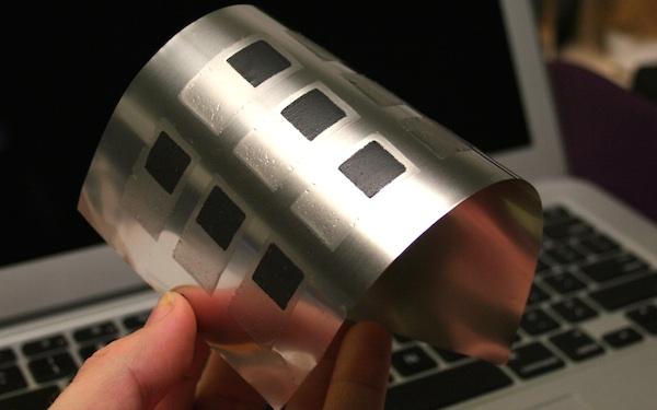 可打印的柔性电池 可用于可穿戴设备