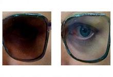 """美高校研发""""智能""""变色眼镜 镜片颜色随便换"""
