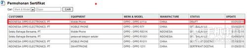 型号为A11w 疑OPPO无边框手机获FCC认证