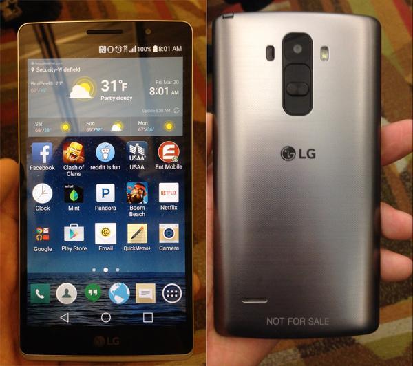 LG G4 Note真机谍照曝光 附带手写笔