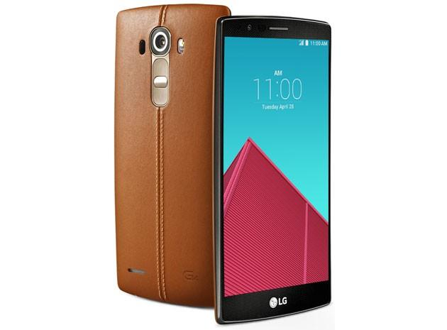 LG G4清晰渲染图曝光 拥有真皮材质后壳