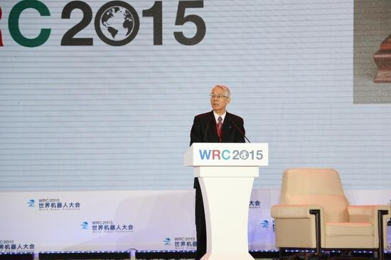 日本顶级专家:灾害救援机器人是我们的重要领域 | 2015世界机器人大会