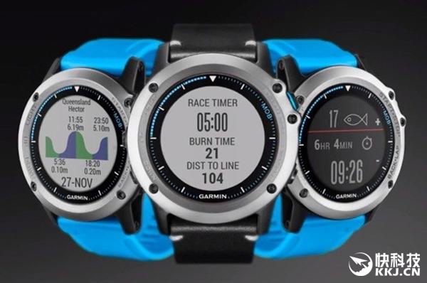 佳明Quatix 3手表发布:100米水下可用