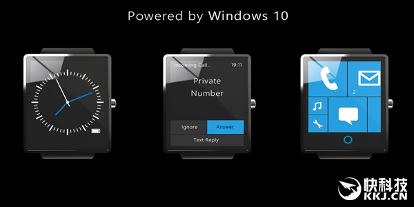 这款Win10 Surface手表帅爆了