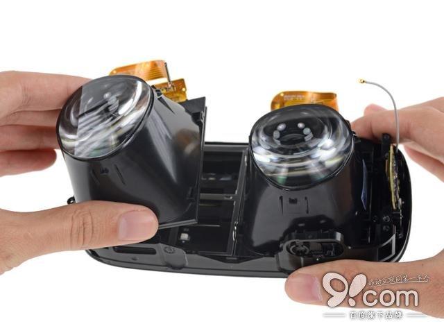 设计精美且方便维修 Oculus VR头显拆解