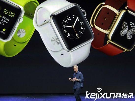 苹果手表APPLE WATCH露出 iwatch又添新功能