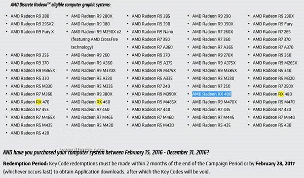AMD官方自曝Radeon RX 490显卡 血战高端