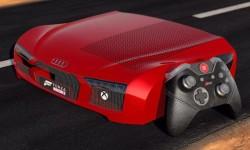 奥迪R8特别版Xbox One S:连手柄都是皮革的