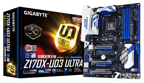 技嘉Z170X-UD3 Ultra售1699 接口丰富