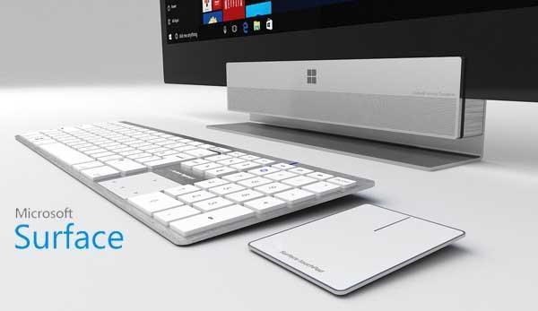 微软首款Surface一体机确认!主打高端