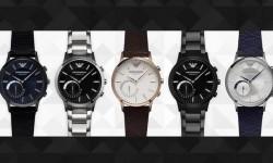 """阿玛尼也来搞智能手表:传统风格智能""""心"""""""