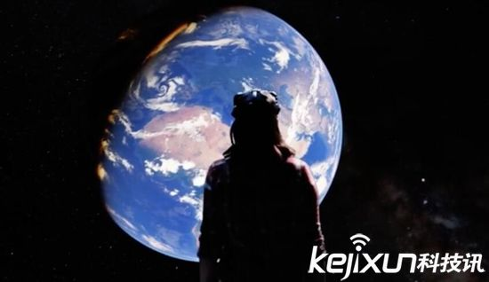 谷歌VR头盔新技术 带你从上帝视角领略地球