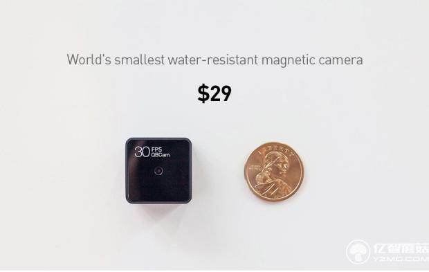 硬币大小的防水相机 让你从不同视角看世界