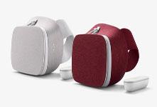 谷歌Daydream View VR限量版发货 绯红色与雪白色两款