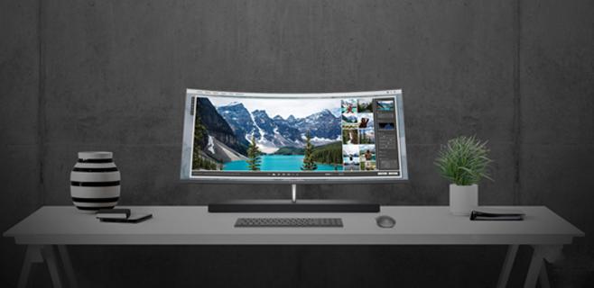 惠普公布新款Envy Curved一体机 搭配英特尔最新处理器