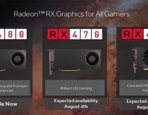 AMD RX 460/470显卡怎么样