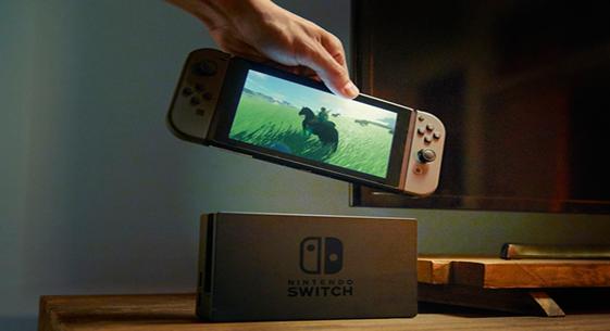 任天堂Switch暂不支持VR 3月3日正式发售