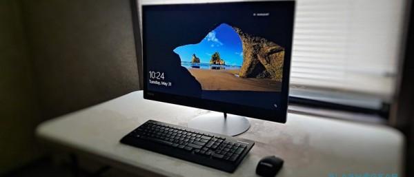 联想ThinkCentre X1一体机评测 超薄轻量级屏幕近乎完美