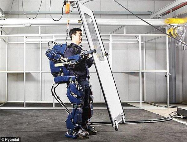 半机械化的工人即将取代传统的普通工人
