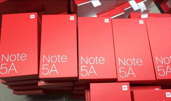 红米Note 5A配置曝光:搭载骁龙625,后置双摄