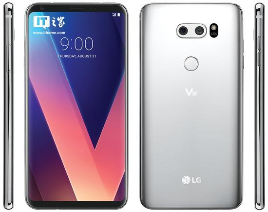 LG V30渲染图曝光:惊艳全面屏 后置平行双摄