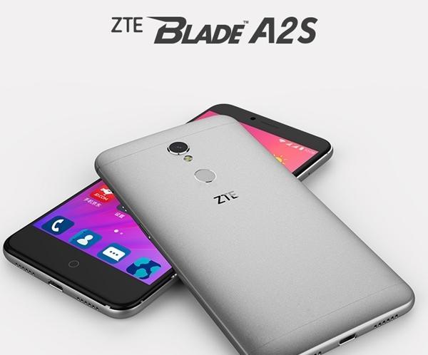 中兴Blade A2S配置参数详解 全金属机身,配备指纹识别功能