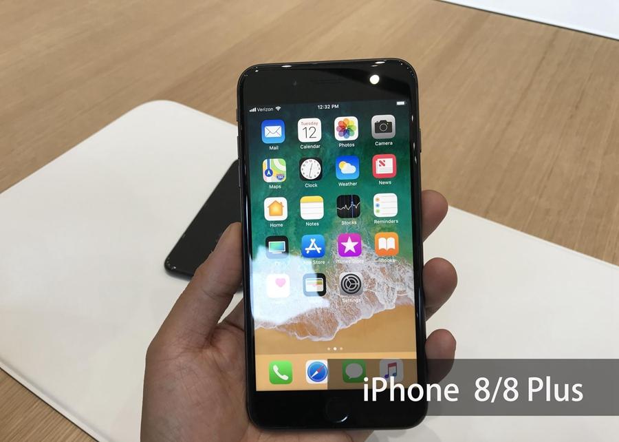 iPhone8/iPhone8 Plus真机图赏 回归双面玻璃