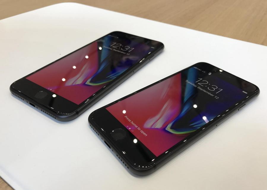 回归双面玻璃 iPhone8/8 Plus真机图赏(4/14)