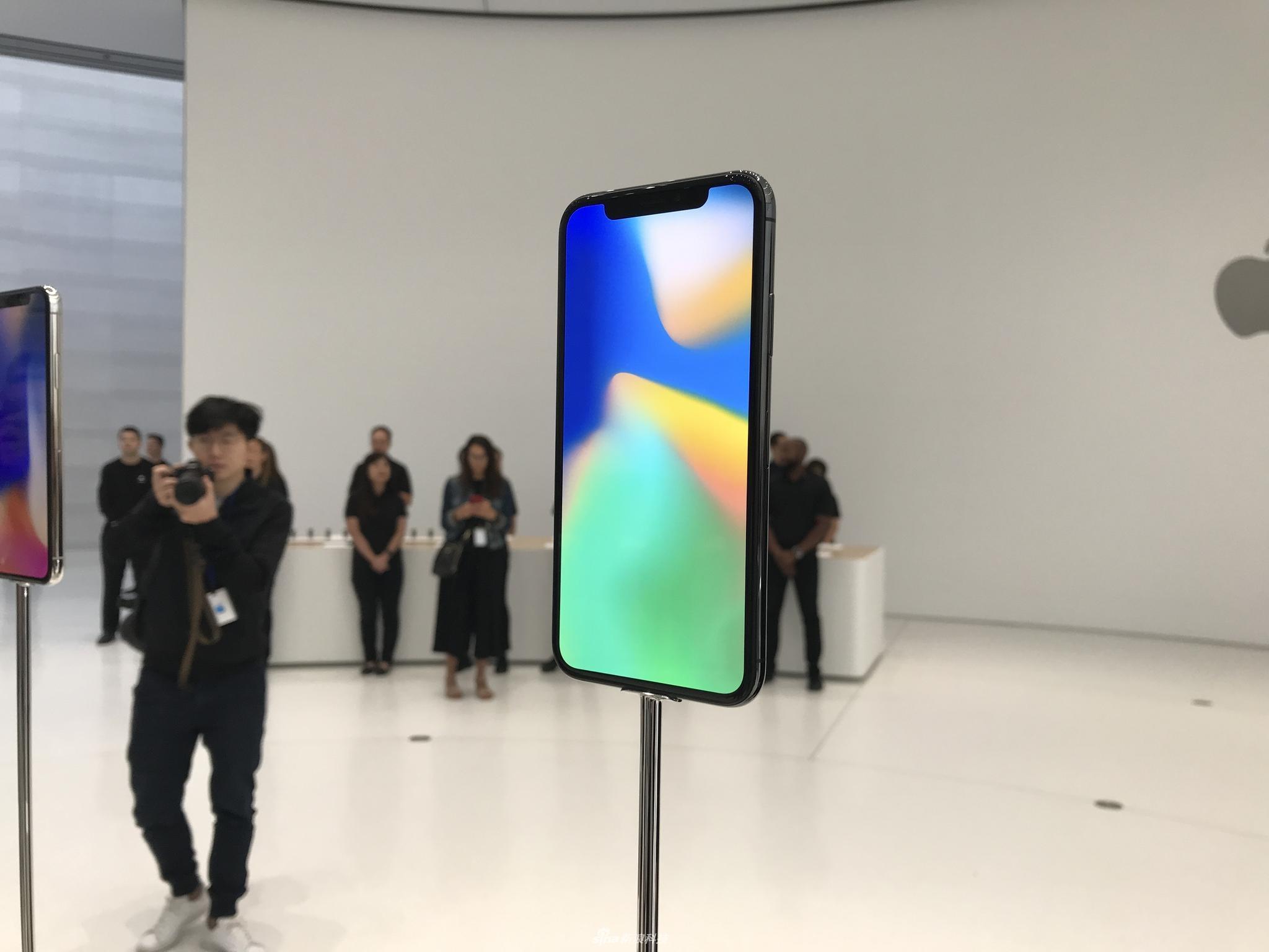 黑白正面没差别 iPhoneX真机实拍图赏(2/13)