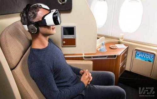 坐飞机还能玩VR 这项新体验我给个赞
