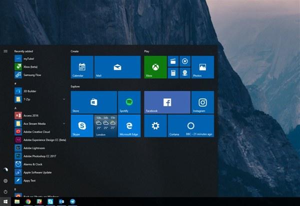 Win10 Build 16291发布 修复Bug并上线新功能