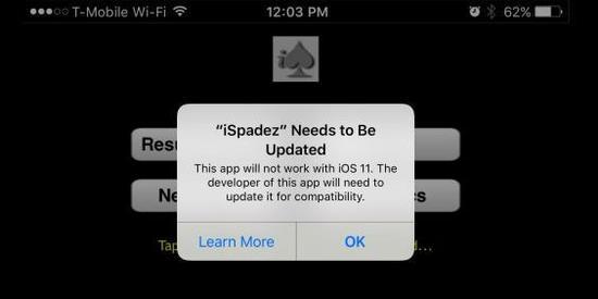 iOS11正式抛弃32位应用,18.7万个App面临下架