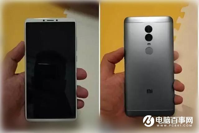 红米Note5千元全面屏手机曝光 或为999元起