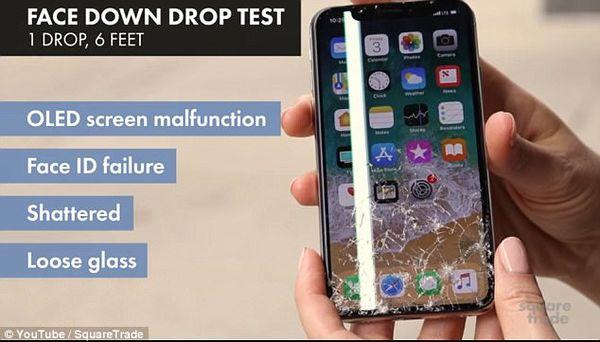 "iPhone X的修理费用非常高昂 ""伤不起""!"