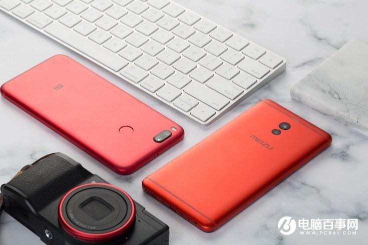小米5X红色版和魅蓝Note6猩焰红对比图赏 哪个好看?