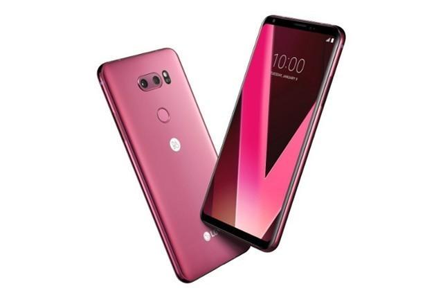LG V30新配色玫瑰粉 将在CES 2018期间发布