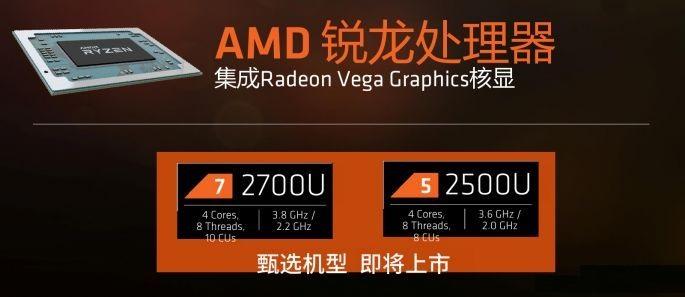 AMD锐龙R5 2500U性能评测 让Intel八代酷睿也汗颜 !