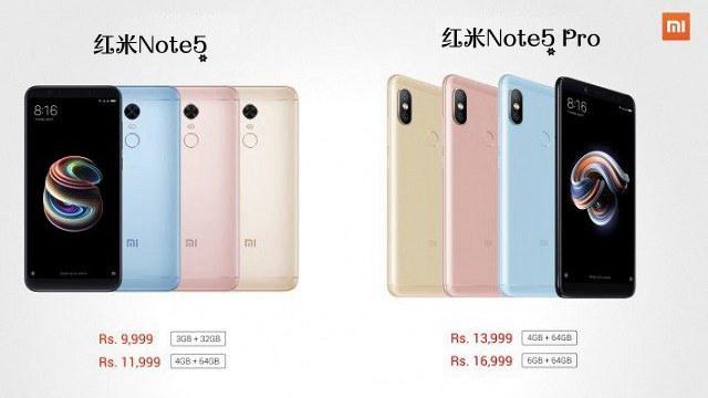红米Note5和Note5 Pro有什么区别?
