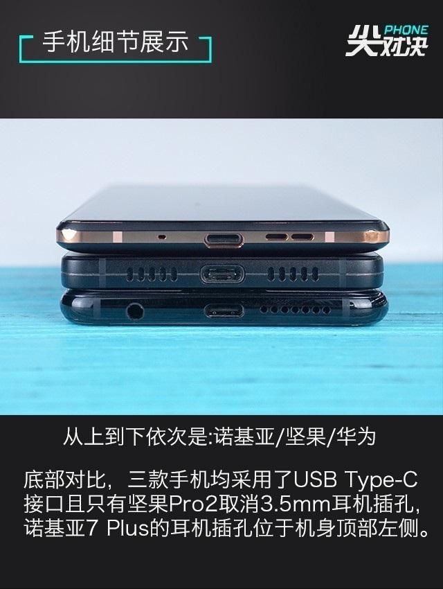 诺基亚7 Plus/坚果Pro2/华为Nova2s对比评测 全面屏手机对决