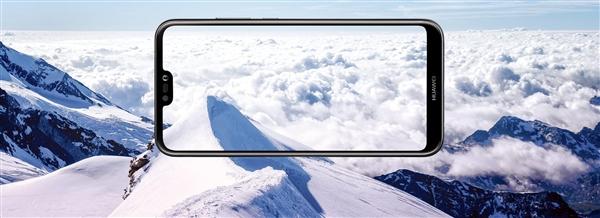 华为P20 Lite公开亮相:异形全面屏加持!
