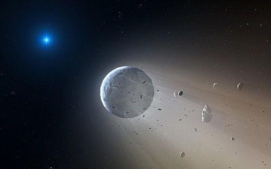地外行星发现水源 距离地球700光年之外!