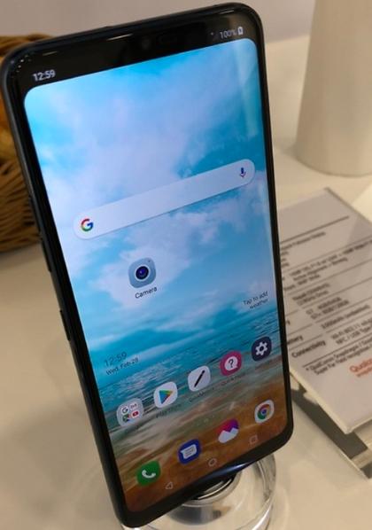LG G7 ThinQ真机曝光:支持隐藏刘海