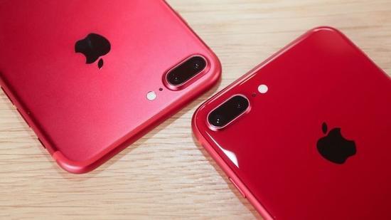 红色特别版iPhone 8/8 Plus真机上手图赏 超高回头率