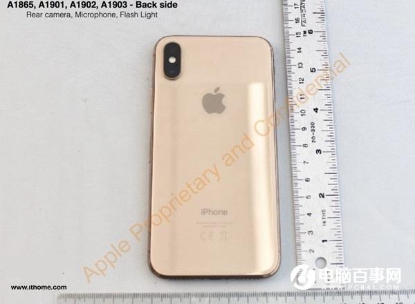 腮红金版苹果iPhone X官方图片首现:采用LCD屏幕