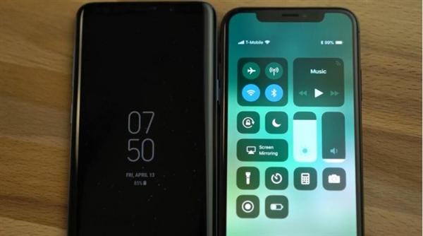 三星S9+、iPhone X电池续航对比:结果没悬念