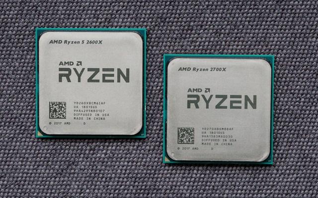 AMD锐龙二代CPU发布:Intel后背再一寒