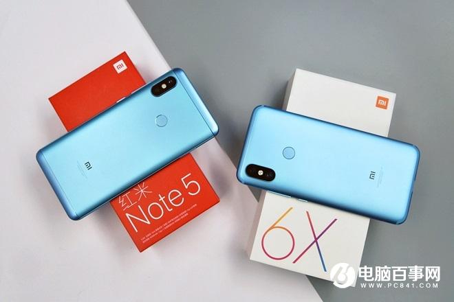 千元机兄弟互博 红米Note5和小米6X对比图赏