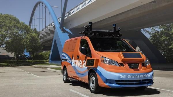 Drive.ai计划启动自动驾驶网约车服务