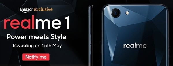 OPPO旗下realme 1手机真机曝光:5月15号发布