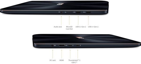 华硕ZenBook Pro 15超轻薄本升级:18.9毫米硬塞六核i9